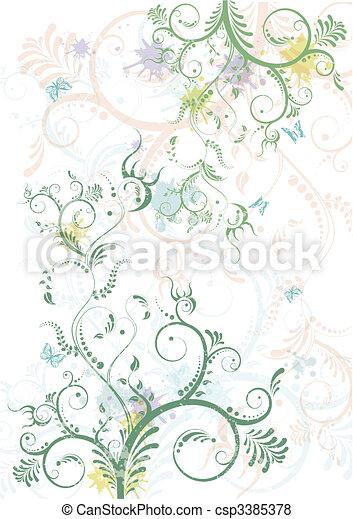 Floral primavera - csp3385378