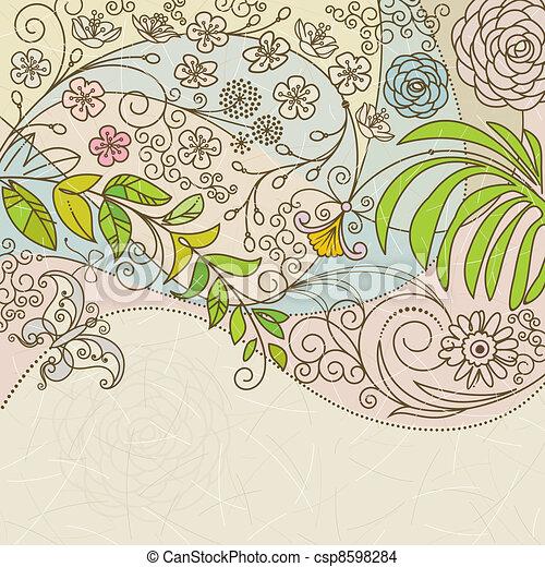 Flor de primavera - csp8598284