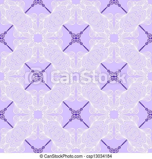 Floral purple blueprint pattern hand drawn linear simple vector floral purple blueprint pattern csp13034184 malvernweather Image collections