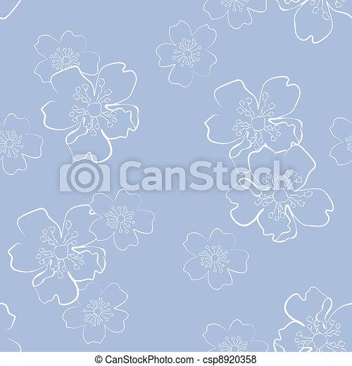 Floral seamless - csp8920358