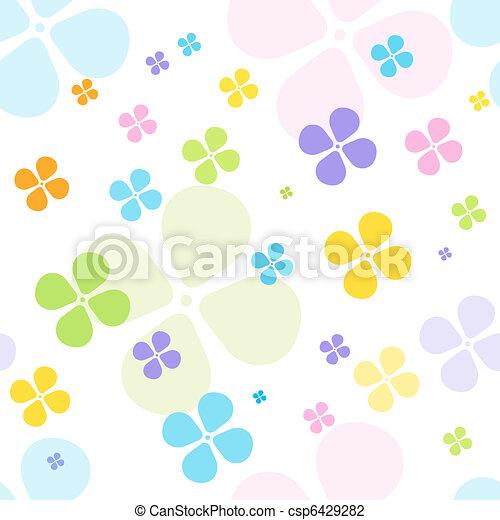 Floral seamless pattern - csp6429282