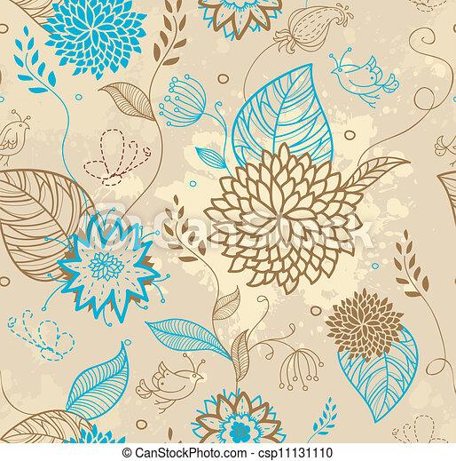 Floral seamless pattern - csp11131110
