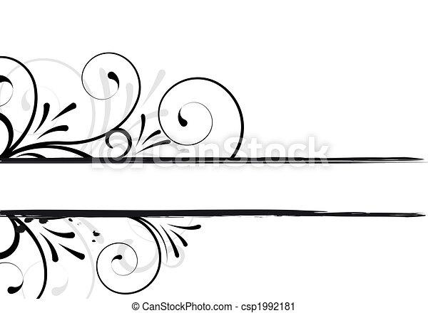 floral texte cadre noir conception. Black Bedroom Furniture Sets. Home Design Ideas