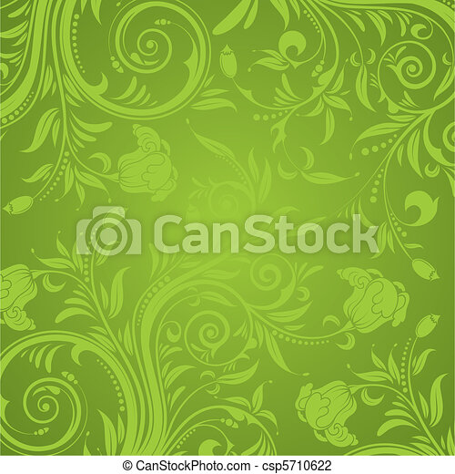 floral, textura - csp5710622