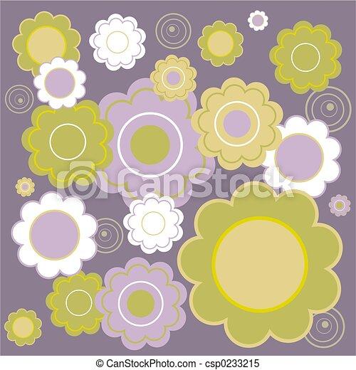 floral tile - csp0233215