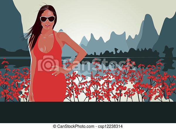 Floral - csp12238314