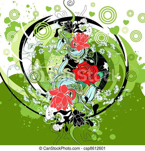 floral - csp8612601