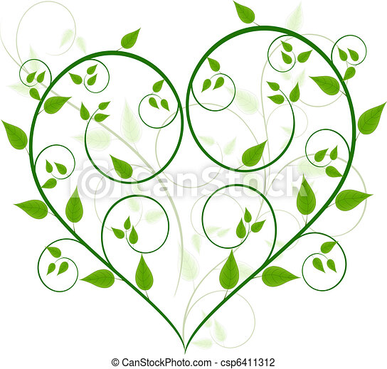 floral, vector, ontwerp - csp6411312