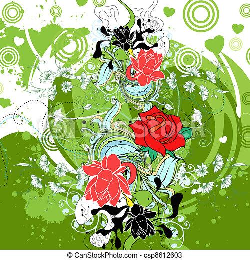 floralfloral - csp8612603