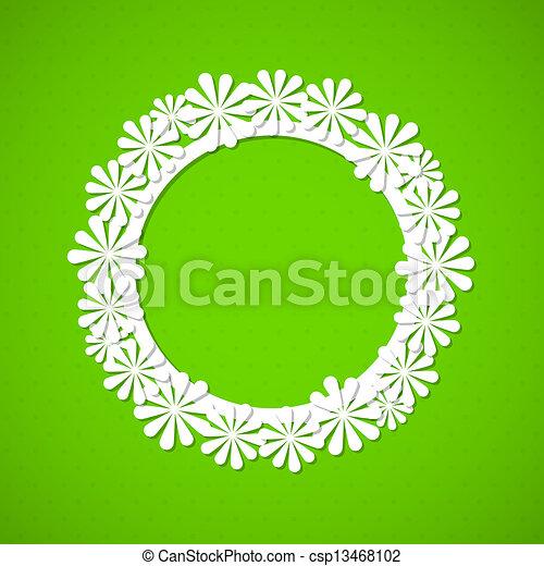floreale, cornice - csp13468102