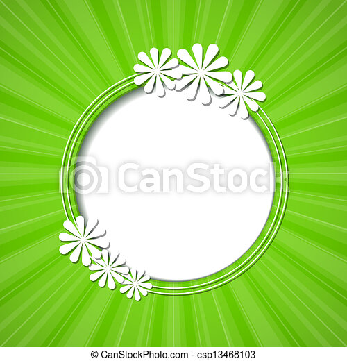 floreale, cornice - csp13468103