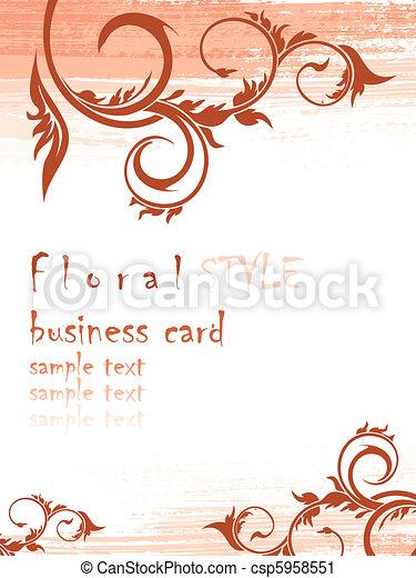 floreale, fondo - csp5958551