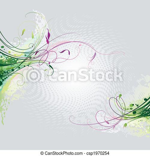 floreale, fondo - csp1970254