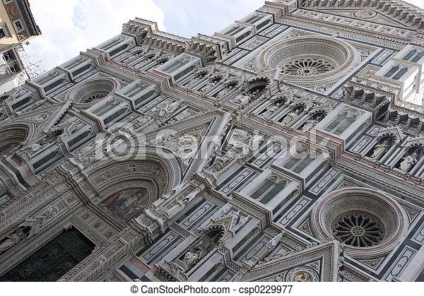 Florence Duomo - csp0229977