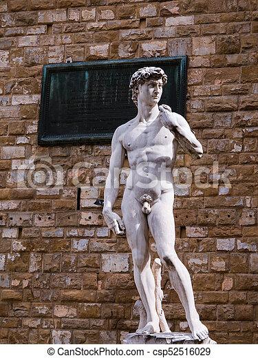 David por Miguel en Florencia, Italia - csp52516029