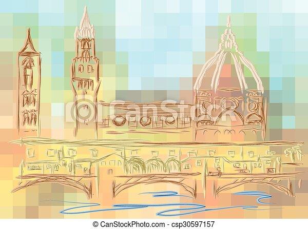 Florence - csp30597157