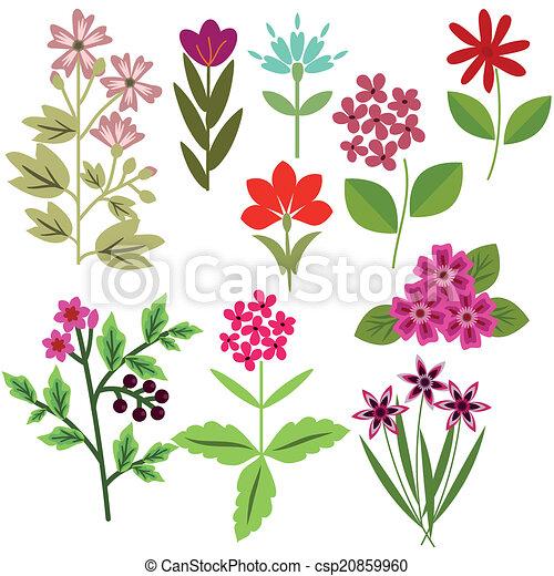 Flores listas - csp20859960