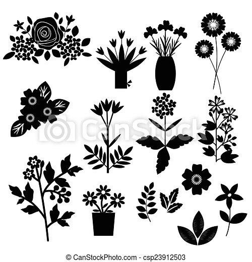 flores, conjunto - csp23912503