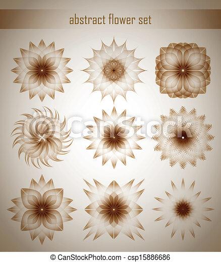 flores, conjunto - csp15886686