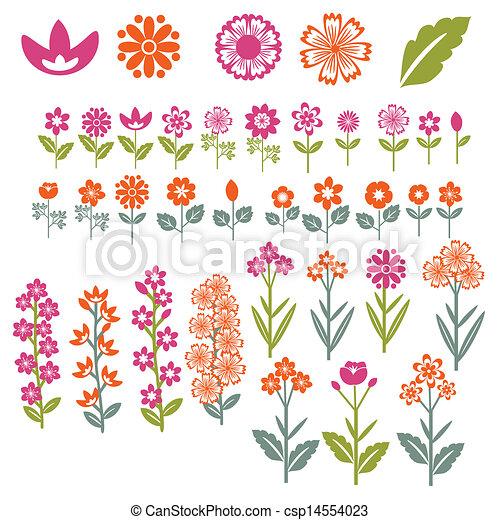 Flores listas - csp14554023