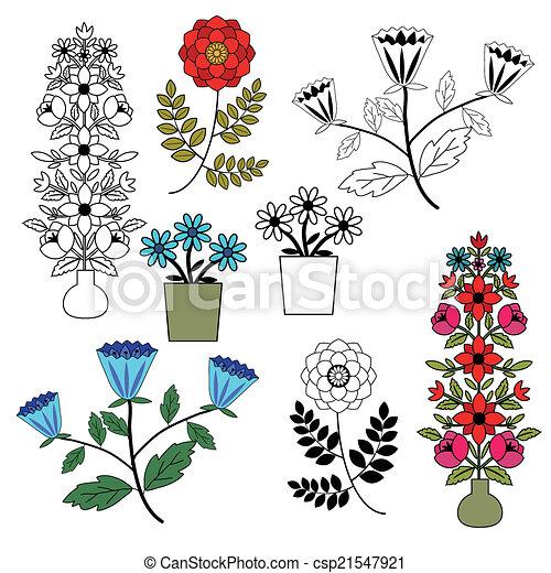 Flores listas - csp21547921