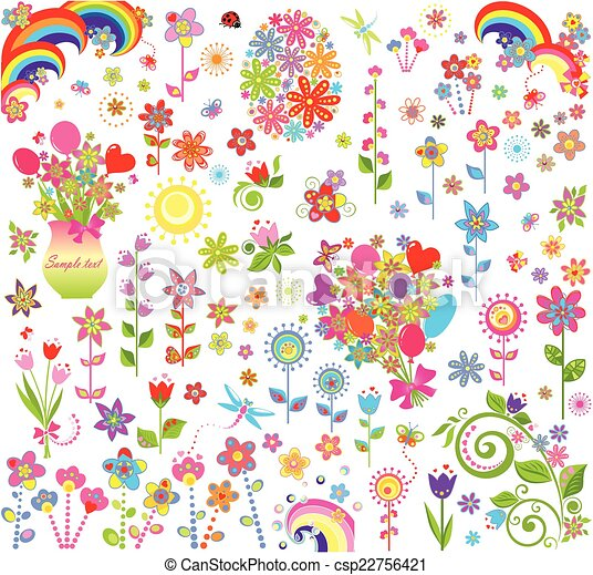 Flores listas - csp22756421