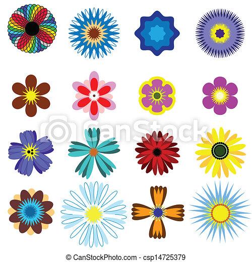 Flores listas - csp14725379