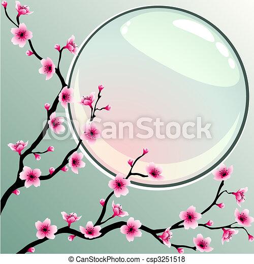 flores de cerezo - csp3251518