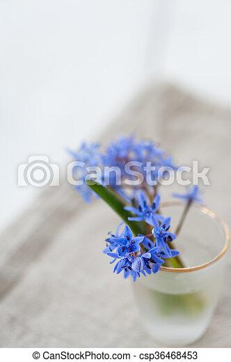 Flores de primavera - csp36468453
