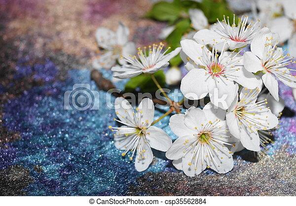 Flores de primavera - csp35562884