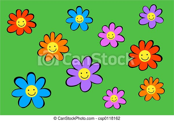 Flores felices - csp0118162