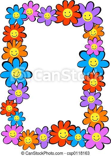 Flores felices - csp0118163
