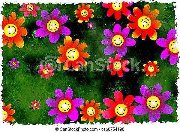Flores sucias - csp0754198
