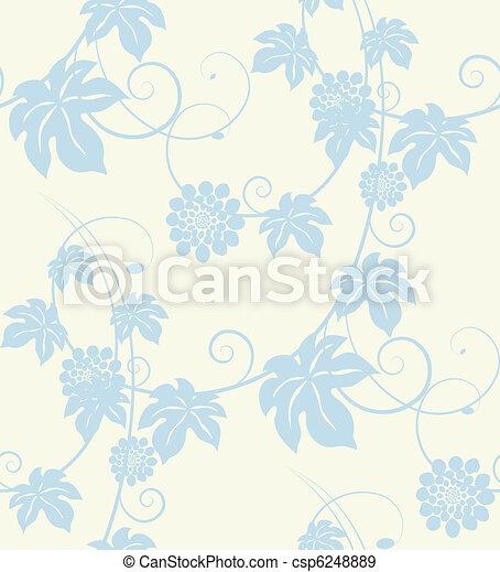 Flores de jardín sin fondo. - csp6248889