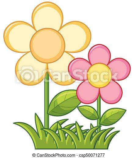 Flores Coloridas Desenho Flores Imagenes