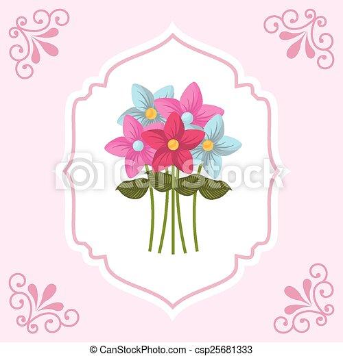 Flores ramo - csp25681333