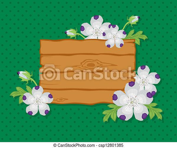 flores, tábua - csp12801385