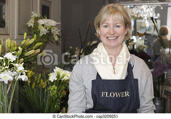 floricultor - csp3209251