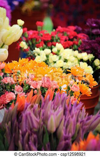 floricultor, lona - csp12598921