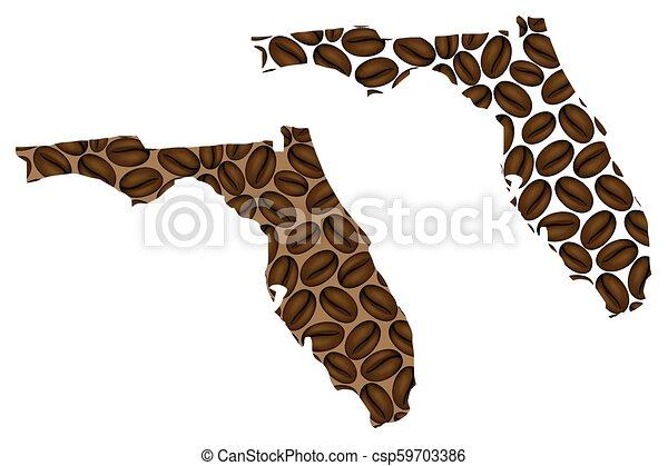 Florida map - csp59703386