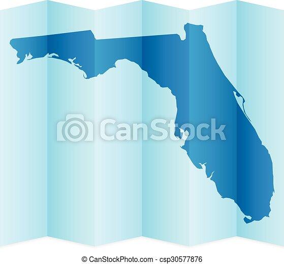 Florida map - csp30577876