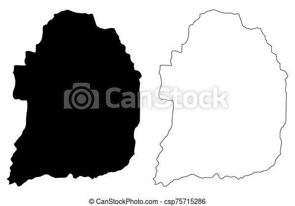Florida municipality (Commonwealth of Puerto Rico, Porto Rico, PR, Unincorporated territories of the United States) map vector illustration, scribble sketch Florida map - csp75715286