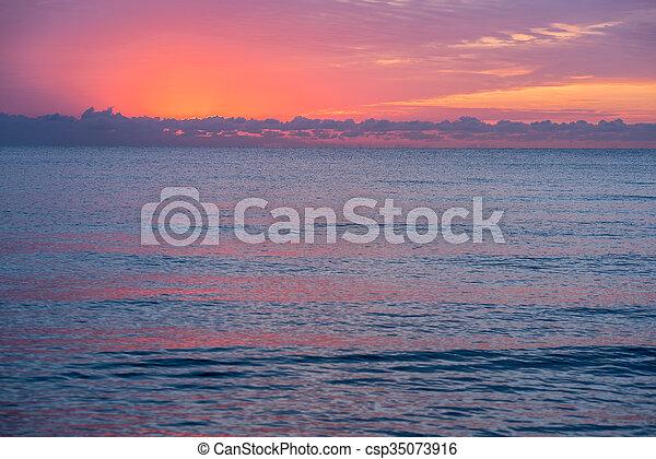 Florida Sunrise 11 - csp35073916