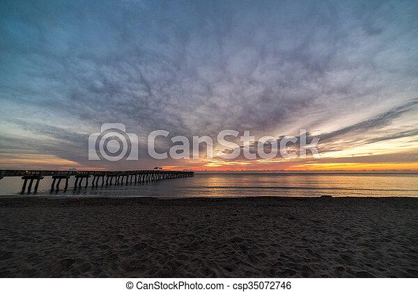 Florida Sunrise - csp35072746