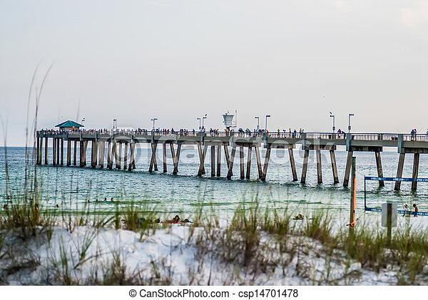 florida, tengerpart táj - csp14701478
