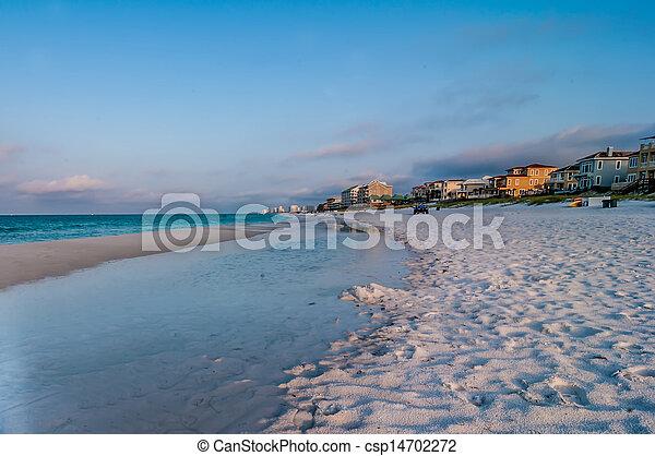 florida, tengerpart táj - csp14702272
