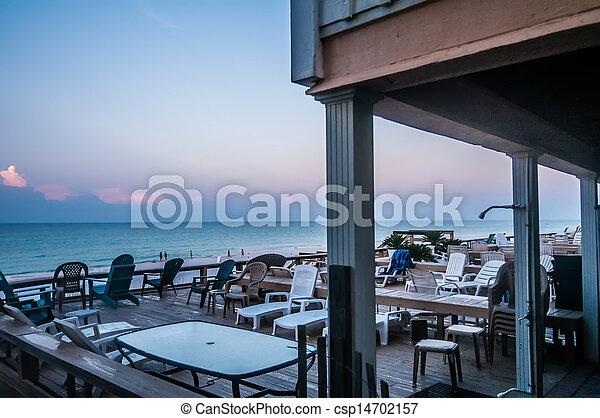 florida, tengerpart táj - csp14702157