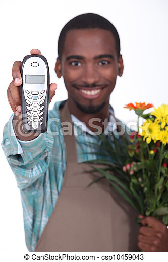 Florist - csp10459043