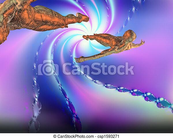 Figuras flotantes - csp1593271