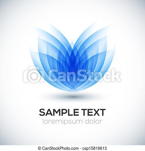 Flower 3D shape. - csp15816613